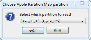 Choose Apple Partition Map partition